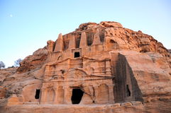 Ancient tomb in Jordan Royalty Free Stock Photography