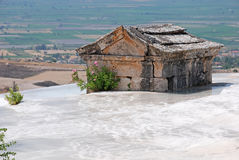 Ancient tomb in Pamukkale, Turkey Royalty Free Stock Photos