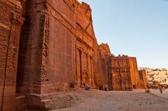 Ancient Tomb in Petra, Jordan Royalty Free Stock Images