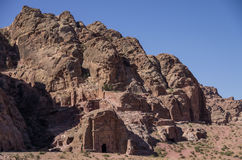 Ancient tomb of Sextius Florentinus in Petra Royalty Free Stock Photos