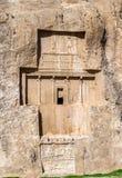 Ancient tombs of Achaemenid kings at Naqsh-e Rustam in Iran Royalty Free Stock Photos