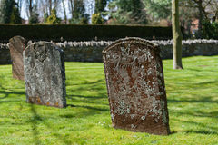 Ancient tombstone Royalty Free Stock Photos