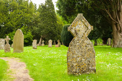 Ancient tombstone Stock Image