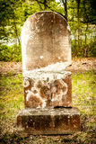 Ancient Tombstone Stock Photography