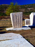 Ancient tombstones, cemetery Stolac, Bosnia and Herzegovina Stock Photography