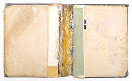 Ancient torn book Royalty Free Stock Photos