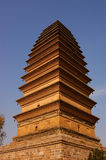 Ancient tower. China's ancient tower, the state-level cultural relics,Three saints tower Royalty Free Stock Images