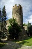 Ancient tower in Aosta, Italy Stock Photos