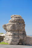 Ancient tower. Assisi. Umbria. Royalty Free Stock Images