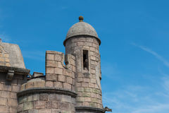 Ancient Tower in Castle in Italy, Europe Royalty Free Stock Photo