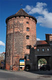 Ancient tower in Gdansk, Poland. Royalty Free Stock Photography