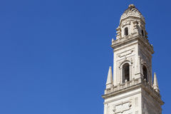 Ancient tower in the historic center of Lecce, southern Italy Stock Images