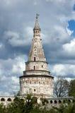 Ancient tower of the Joseph-Volokolamsk Monastery, Moscow region Royalty Free Stock Photo