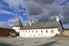 Ancient tower of the Kazan Kremlin Stock Photography