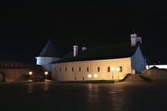 Ancient tower of the Kazan Kremlin Royalty Free Stock Photo