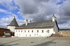 Ancient tower of the Kazan Kremlin Royalty Free Stock Image