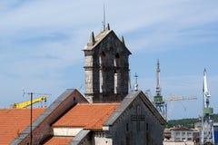 Ancient tower of Pula, Croatia Royalty Free Stock Photography