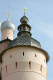 Ancient tower in Rostov kremlin Stock Images