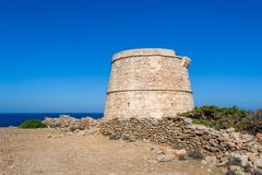Ancient tower Royalty Free Stock Images