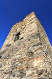 Ancient  tower ruins Stock Image