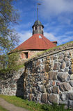 The ancient towers of Lars Torstenson. The Korela Fortress, Priozersk Stock Images