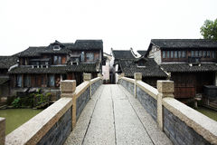 Ancient town. Of wuzhen,china stock photo