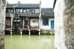 Ancient town. Of wuzhen,china royalty free stock photo
