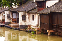Ancient town. Of wuzhen,china royalty free stock photos