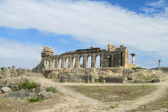Ancient town arc temple ruins Royalty Free Stock Photo