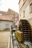 Ancient town of Bad Urach in Southern Germany Stock Photo