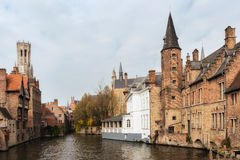 Ancient town of Bruges Royalty Free Stock Photos