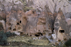 Ancient Town in Cappadocia, Turkey Stock Photography