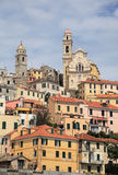 Ancient town of Cervo Royalty Free Stock Photo