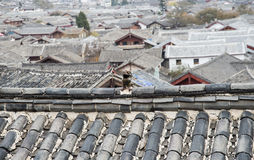 The ancient town of china Royalty Free Stock Photos
