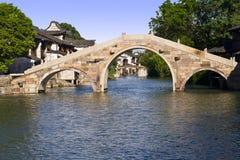 Ancient town. China Zhejiang Wuzhen tour history royalty free stock photography