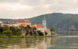 Ancient town of Durnstein in Austria Stock Image