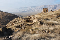 The ancient town in Eastern Turkey Stock Images