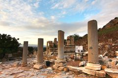 The ancient town Ephesus, Turkey Royalty Free Stock Photo