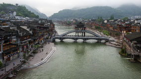 The Ancient town of FuRong Stock Images