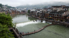 The Ancient town of FuRong Stock Photo