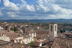 Ancient town of Gubbio (Umbria, Italy) Stock Image