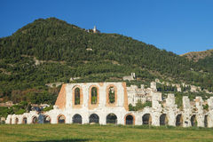 Ancient town of Gubbio (Umbria, Italy) Stock Photography
