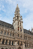 Ancient town hall in Brussels Stock Photography