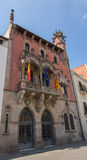 The ancient Town Hall of Granollers city Royalty Free Stock Photography