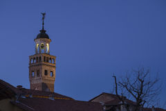 Ancient town hall of Saluzzo Royalty Free Stock Photos