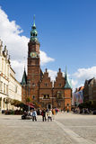 The ancient Town Hall in Wroclaw, Poland Stock Photos
