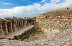 The ancient town Hierapolis, Turkey Stock Image