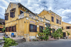 Ancient town of Hoi An. The ancient town of Hoi An, an UNESCO World Heritage site in Vietnam Royalty Free Stock Photo