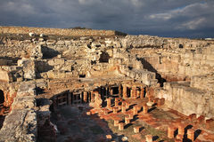 Ancient  town in Kourion. Cyprus Stock Image