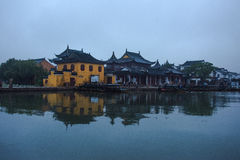 The ancient town landscape in Suzhou. China Stock Image